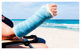 Holiday accident claims